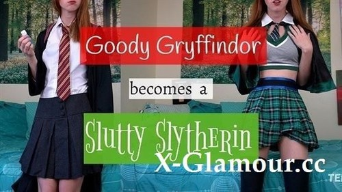 Goody Gryffindor Becomes A Slutty Slytherin Ginny Weasley Potion Joi [FullHD]