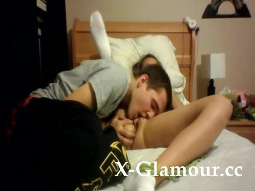 Amateurs - Awesome Amateur Teen Couple Having Some Hardcore Action In The Dorm (SD)