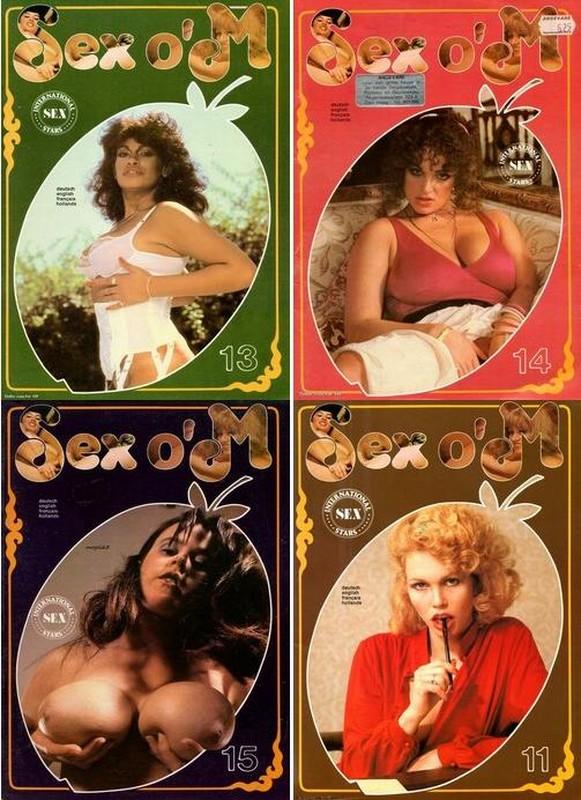 4 Magazines - Sex o'M (1978) JPG