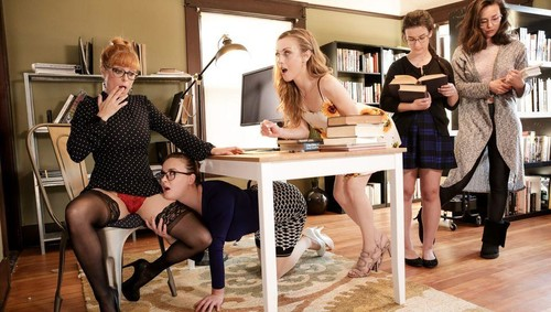 Penny Pax, Karla Kush, Jay Taylor - The Library Is Now Closed