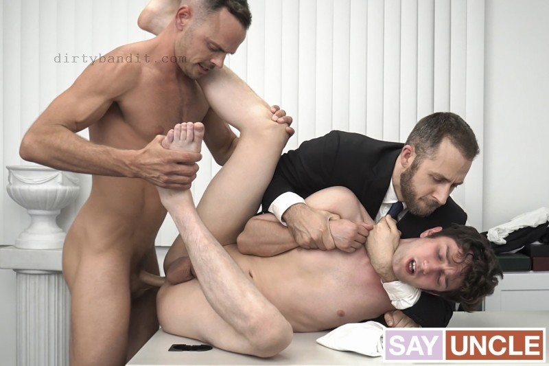 MissionaryBoys - The Anointing Ritual: Elder Masters, Trent Summers Bareback (Dec 1)
