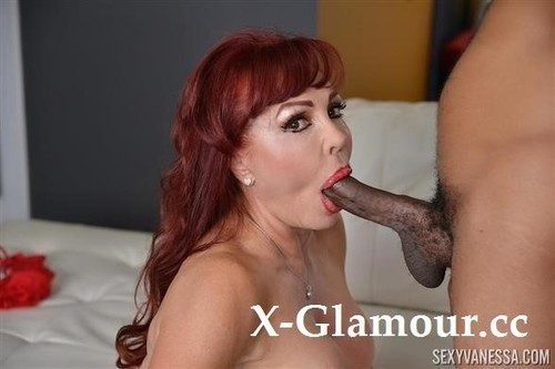 Sexy Vanessa - In Interracial Mouth Fucking