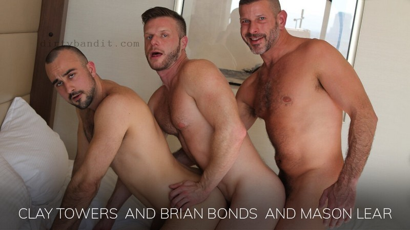 BarebackThatHole - Clay Towers, Brian Bonds, Mason Lear (Dec 9)
