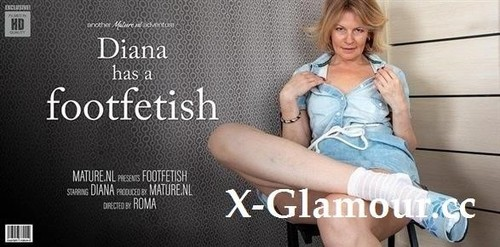Milf Diana Has A Naughty Thing For Feet [FullHD]