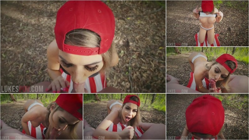 Luke Riggs - Risky Outdoor Blowjob From Nina Milano [HD 720P]